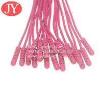 China High Quality Customized Clothing Accessories Pvc Silicone Rope Zipper Pullers wholesale