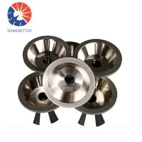 China China factory 9 inch Abrasive Electroplated Diamond/Cbn Grinding Cutting Wheel For Grinding Carbide wholesale