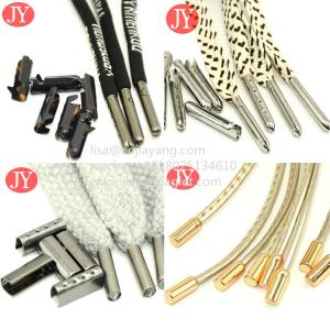 China factory wholesale abs aglet/metal aglet clothing accessories eco-friendly rope cord shoe laces wholesale
