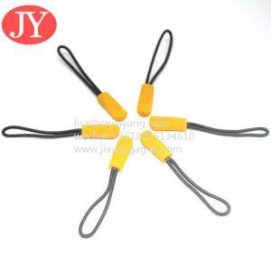 China Hot sale handbag rope zipper pulls handbag zip pullers glow in the dark slider puller Jiayang zipper puller wholesale