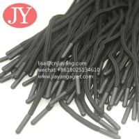 China custom round polyester drawstring shoe lace aglets injection soft TPU plastic tip aglet wholesale