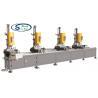 China Aluminum Window Profile Four Spindle Drilling Machine / Aluminum Window Fabrication Machine wholesale