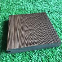 China Durable Co Extrusion Wpc Decking , Bamboo Plastic / Wood Polymer Composite Decking wholesale