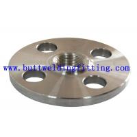 China ANSI ASTM A182 A351 F304 Forged Steel Flanges / Weld Neck Flange For Shipbuilding on sale