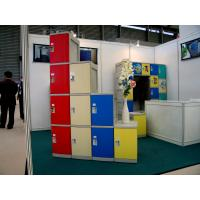 China Smart Red Fitness Center Lockers With On - Site Assembly Eco-friendly CE certified 1910 × 380 × 500 wholesale
