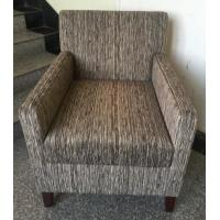 China Hotel wooden fabric upholstery lounge chair ,hotel sofa,single sofa LC-0021 wholesale