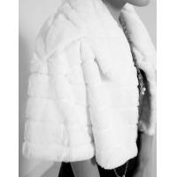 Buy cheap Women's Rabbit Fur Coats Fur Jacket Japanese & Korean style Z49 White from wholesalers