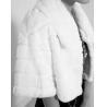China Women's Rabbit Fur Coats Fur Jacket Japanese & Korean style Z49 White wholesale