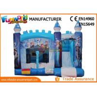 Buy cheap Constant 0.55mm Pvc Tarpaulin Inflatable Jumpers Bouncers Combo With Slide from wholesalers