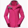 China Custom made ski wear nylon heated ski jacket wholesale