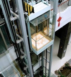 China Tecnología absoluta del control de posición del elevador panorámico del mercado wholesale