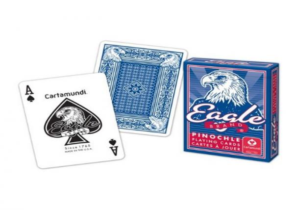 Quality Bilingual Cartamundi Eagle Marked Poker Playing Cards For Cheating / Magic Tricks for sale