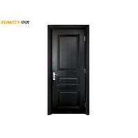 China Solid Core Flush 3 Panel 40mm Thick Plain Wooden Door on sale