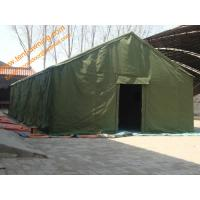 China 5x8m Waterproof Canvas  Emergency Disaster Refugee Big Relief Tent wholesale