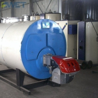 China PLC 4000kg/H 1.25mpa LPG LNG Natural Gas Steam Boiler on sale