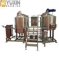 China Brewery Plant 1000L 2000L 3000L 5000L Commercial Beer Brewery Equipment for Sale wholesale