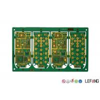 Buy cheap ENIG Surface Multilayer PCB Board 6 Layers FR - 4 Base Material Dielectric from wholesalers