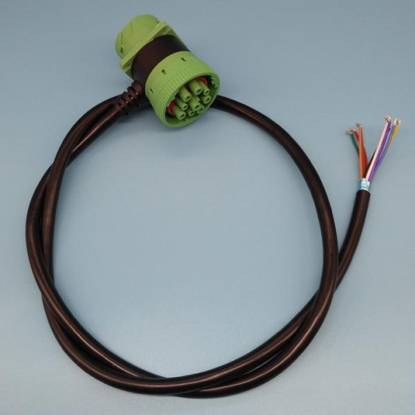 Quality RoHS Deutsch 9 Pin J1939 Cable Pass Through To Open End Cable for sale