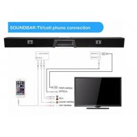 China 110W Bluetooth Speaker Bar 2.1 Channel With 3D Surround Sound System wholesale