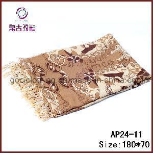 China Fashion Printed Shawl Scarf (AP24-11) on sale