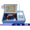 China 高精度のゴム印家の水冷のための小型レーザーの打抜き機 wholesale