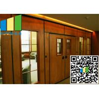 China Acoustic Rate 45 Db Commercial Sliding Doors Wall Partition 3.346 Inch Thickness wholesale