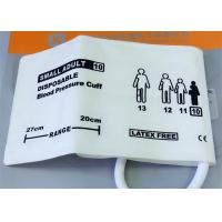 China Single Tube Infant Size Blood Pressure Monitor Cuff NIBP Disposable Medical Accessories wholesale