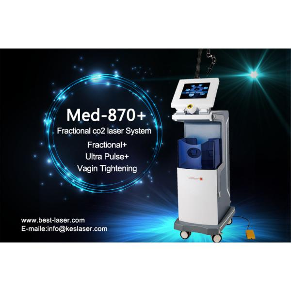Quality Face Skin CO2 Fractional Laser Machine , CO2 Laser Skin Resurfacing for sale