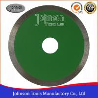 China 180mm Wet Dry Cutting Continuous Ceramic Tile Saw Blades High Efficiency wholesale
