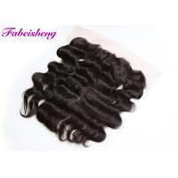 China Affordable Full 13 By 4 Lace Frontal Closures Brazilian Wavy Hair With Cuticle Intact wholesale