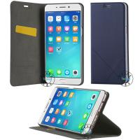 pu leather filp case with Magnetic Closure & Stand for Apple OPPO R9