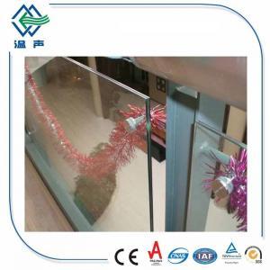 Buy cheap панели прокатанного стекла 6.38mm ультра ясные экстренные ясные супер ясные с CE from wholesalers