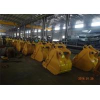 China Heavy Duty Rock Bucket CAT320 Excavator Rock Bucket 800mm Width wholesale