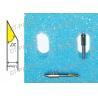 China Metal Auto Cutter Parts W/ spring BLADES CB15U-K20-2SP Blade 1.5mm 20° Sandblast Rubber Resist wholesale