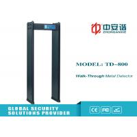China Security Walk Through Metal Detector Door Frame , Metal Detection Systems wholesale