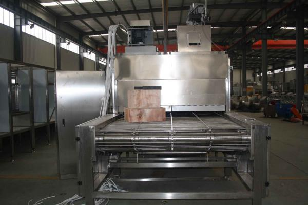 Quality Industrial Continuous Peanut Baking Machine / Roaster Food Grade Hygiene Standard for sale
