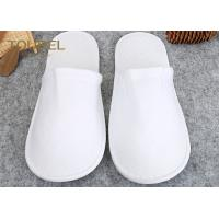 Buy cheap Luxury With Unisex Size White Spa Slippers For Men And Women , Disposable House Slippers from wholesalers