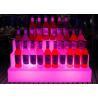 China Custom Beer Illuminated Luminous Acrylic Led Lighting Ice Wine Bucket Shelf wholesale