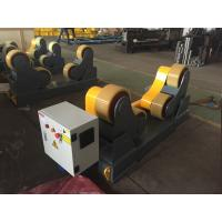 China Self Aligned Pipe Turning Rolls Pipe Welding Rollers 350 X 120mm Rubber Wheels wholesale