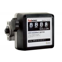 China High Performance  4 - digital Mechanical Fuel Flow Meter 50psi 3.5BAR on sale