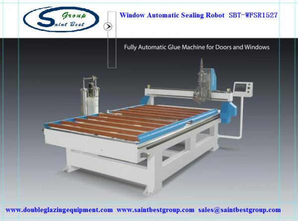 Quality Automatic Window Sealing Machine,Window Frame Automatic Sealing Robot,Window Automatic Sealing Machine for sale