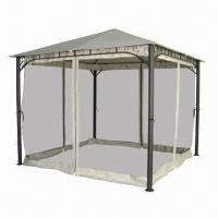 China 3 x 3m Deluxe Gazebo with Big Pole and Mosquito Netting wholesale