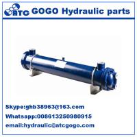 China Multi tube Type hydraulic oil cooler , heat exchanger hyd oil coolers KMCL10Y80 on sale