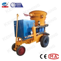 Buy cheap 4m3/H Dust Removal Dedusting Dry Mix Shotcrete Machine Slope Supporting from wholesalers