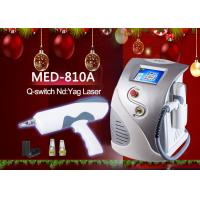 China MED-810A ND YAG Q Switch Laser Tattoo Removal Machine 8.4 TFT color LCD display wholesale
