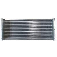 China 15.88mm 4 Rows Finned Tube Heat Exchanger For Refrigiration Industry wholesale