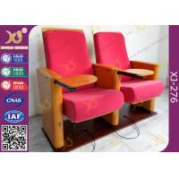 China Church Type / Theater Type Theater Seating Furniture With USB Port Phone Recharge wholesale
