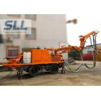 China Full Automatic Concrete Spraying Machine With Remote Control Four Wheel Drive wholesale