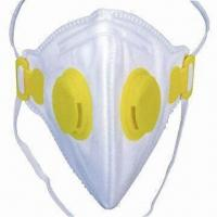 China Safety Dust Mask/Respirator, CE-certified, FFP1, FFP2, FFP3, N95, N99 Standards, with Valve wholesale