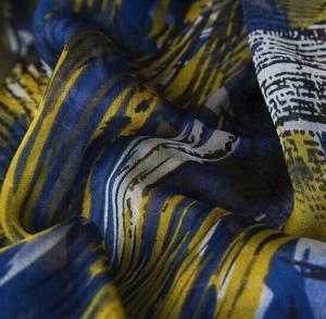 China Lean Textile 75D chiffon maxi dress fabric, Polyester fabric, printed plain floral chiffon wholesale